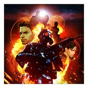 Неформатный постер Resident Evil